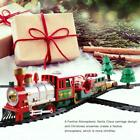 Christmas Electric LED Musical Train & Track Set Toys Home Xmas Decor Gift F0T8