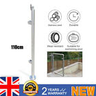 110 cm Stainless Steel Balustrade Railing Posts End, Mid, Corner Fits For 8~12mm