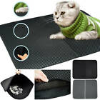 CAT LITTER CATCHER TRAY MAT EVA TWO LAYERS KITTEN SCATTER CONTROL PAW CLEANING
