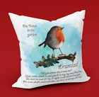 Beautiful Christmas Robin PERSONALISED (Optional) keepsake/memorial/remembrance