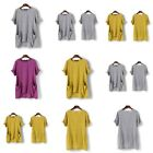 Womens Elegant T-Shirt Jumper Floral Fashion Tops Loose Casual O Neck New