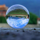 Clear Lens Globe Crystal Glass Ball Stand For Sphere Photography Decoration Home