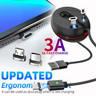 3 in 1 Retractable Magnetic USB Cable Fast Charging Data Cord For...