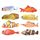 Electric Fish Toy Chew Kick Play Toys Interactive Pillow Fish Pet Supply
