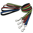 120cm Strong Dog Lead Training with Handle Reflective Nylon Heavy Duty Pets Lead