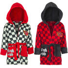 Kids Bathrobe Boys Disney Cars Gray Red Cuddly Soft 98 104 116 128 145