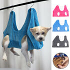Fleece Pet Hammock Helper Dog and Cat Grooming Hammock for Bathing Nail Trimming