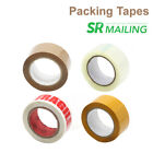 Lot Strong Clear Coffee Fragile Yellow Parcel Packing Tape 48mmx92m Box Sealing