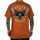 Sullen Men's Blaq Magic Premium Short Sleeve T Shirt Orange Clothing Apparel ...