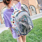 Cat Backpack Carrier Astronaut Travel Bag Small Dog Transparent Capsule Space