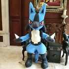 63'' Custom made Lucario Plush Doll Cover Anime Giant Toy Pillow Case Xmas Gift