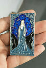 The Lord Of The Rings The Hobbit Galadriel Metal Badge Brooch Pin Collect N