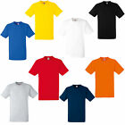 3 FRUIT OF THE LOOM HEAVY COTTON T SHIRTS 8 COLS S-XXXL