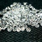 Round 2.5mm AA Cubic Zirconia White CZ Stone Lot