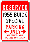 1955 55 BUICK SPECIAL Parking Sign