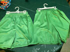 "NEW Boys Soffe Mini-Mesh Short Kelly Green 5"" Inseam"