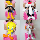 LOONEY TUNES Soft Cuddly Stuffed Plush Beanies Toy Doll