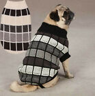 East Side Col Chenille Block Dog Turtleneck Sweater Pet