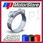 T Bolt Hose Clamps - TBolt Supra Heavy Duty Pipe Clip Exhaust Silicone Stainless