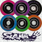 SLAMM Metal Alloy Core 100mm Stunt Scooter Wheel with ABEC 5 Bearings & Spacer