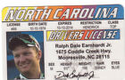 Choose One Plastic Collectors Card Dale Earnhardt Sr Jr  Jeff Gordon Johnny Cash