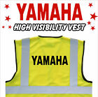 YAMAHA MOTORCYCLE High Visibility Hi Viz HV Vest Yellow - VARIOUS Sizes