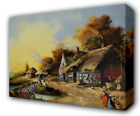 BANKSY GRAFFITI OIL PAINTING - GICLEE CANVAS ART Choose your size