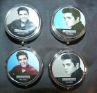ELVIS 'THE KING' DECORATIVE LEGENDS PILL BOX - CHOICE OF 4 DESIGNS