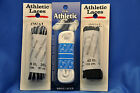 Athletic Shoe, Sport, Sneaker Laces- Oval- 3 Colors, 2 Pairs!