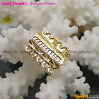 5 Strands Yellow Gold Plated Box Jewelry Clasp