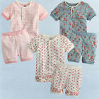 "NWT Vaenait Baby Toddler Girl's Short Sleeve Sleepwear Pajama "" The Lacy Rounds"""