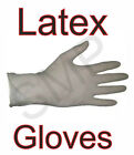 Latex Gloves - Pack Of 500 With Free Postage  5 Boxes Of 100 Gloves