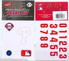 Rawlings MLB Baseball Batting Helmet Decal Kit - All 30 MLB Teams - CHOOSE TEAM