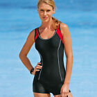 Brand New One Piece Jumpsuit Swimsuit Beachwear Black Blue EU 34-56