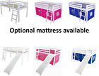 Cabin Bed Mid Sleeper Slide Ladder Mattress   Next Day Delivery