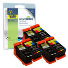 6 Compatible Dell 21/22/23/24 Black/Colour Ink Cartridges for All-in-One Printer