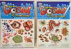 HALLOWEEN - TATTOOS – GROSS-OUT PACKAGE of CREEPY CRAWLING BUGS – NIP