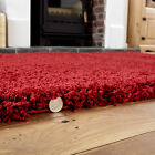 LIVING ROOM THICK SHAGGY RUGS LARGE HALLWAY RUNNER RUG NON SLIP CARPET LOW COST