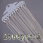 """18"""" Silver plated Necklaces Chains 3 x 2mm Lobster Cable Curb Rolo Choose Qty"""