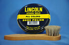 Lincoln Shoe Boot Polish Shine, Stain Wax w/ Applicator !! 9 Colors! NEW