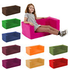 Kids Children's Double Comfy Settee Toddlers Foam Sofa Boys Girls Seating 2 Seat