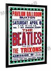 The Beatles The Trixons Concert Poster Buxton 1963