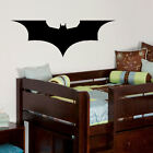 LARGE NEW BATMAN LOGO FOREVER CHILDS BEDROOM WALL MURAL TRANSFER STICKER DECAL