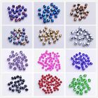Bulk 1000 Glass Crystal Jewelry Diy Finding Bicone Spacer Beads 4mm Jade And AB