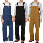 Dickies Bib Overalls Mens Cotton Bib Overalls DB100 Duck, Denim Pants Size 30-50