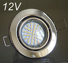 4 x 12V Power SMD LED Einbaustrahler Deckenspots Set m. Transformator