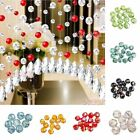 50/80pcs Round Faceted Crystal Glass Findings Loose Beads U Choose Color