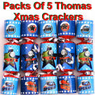 Packs Of 5 Thomas The Tank Engine Christmas Crackers 10 20 30 40 60 120 180 360