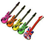 INFLATABLE MUSICAL INSTRUMENT GUITAR FANCY DRESS ACCESSORY PARTY FUN NOVELTY TOY