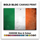 Abstract Irish FLAGS  Canvas Art Print Box Framed Picture Wall Hanging BBD